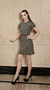 French Tweed Dress