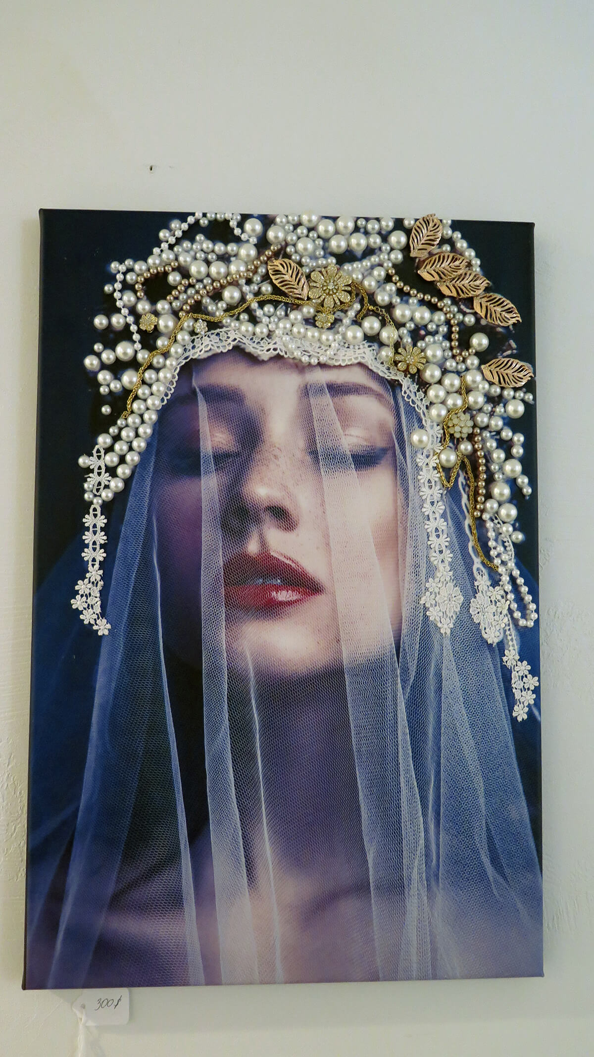 Woman with Pearl Headdress